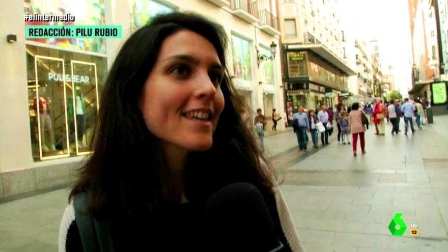 Encuesta de El Intermedio en la calle sobre Cristina Cifuentes