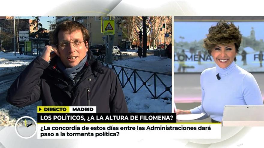 José Luis Martínez Almeida y Sonsoles Ónega en 'Ya es mediodía'