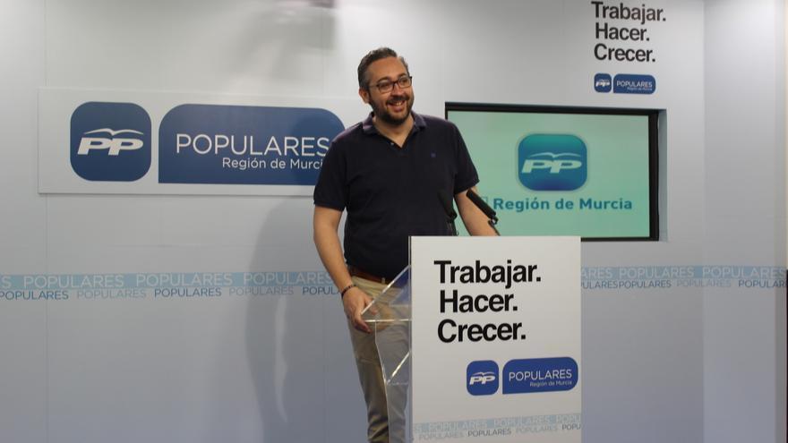 Portavoz del PP de la Región de Murcia, Víctor Martínez / BM