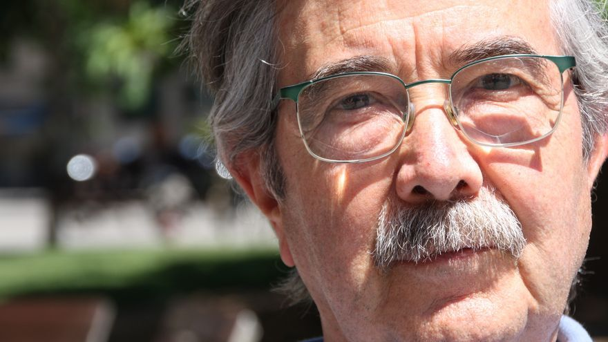Josep Martí Valls, de la Plataforma pel Dret a la Salut i Barcelona en Comú / BLANCA BLAY