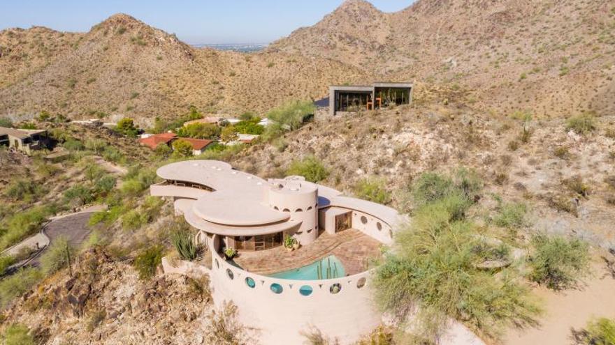 Subastan casa circular del arquitecto estadounidense Frank Lloyd Wright