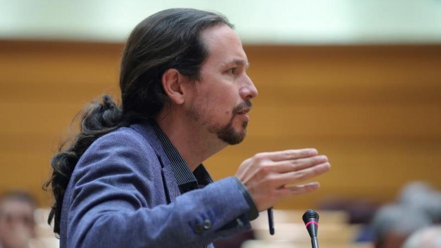 El líder de Podemos y vicepresidente del Gobierno, Pablo Iglesias.