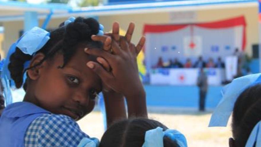 Uno de los proyectos en los que ha colaborado Cruz Roja en Haití.