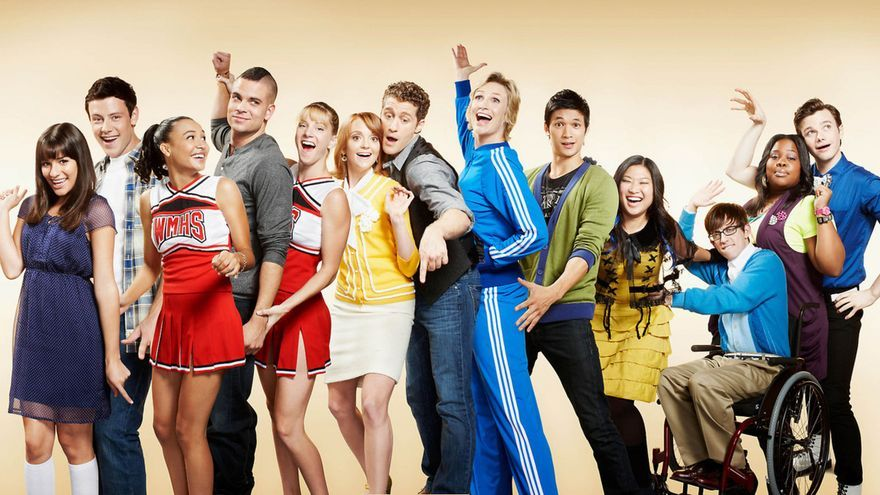 Los chicos de 'Glee'