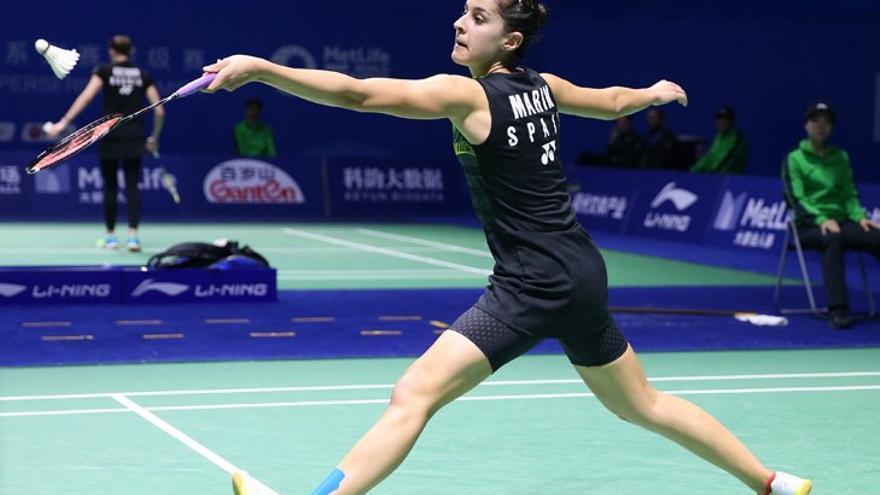 La onubense Carolina Marín, en el Open de China