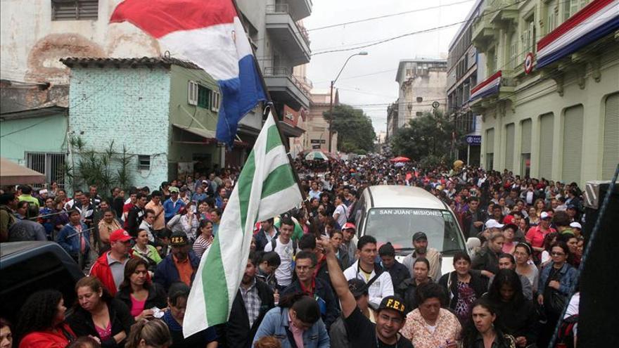 Los docentes paraguayos convocan una huelga general a partir del viernes