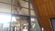 Los investigadores del estudio Alberto Quílez, Alejandra Cortés, Tatiana Iñiguez y Raquel Lozano.