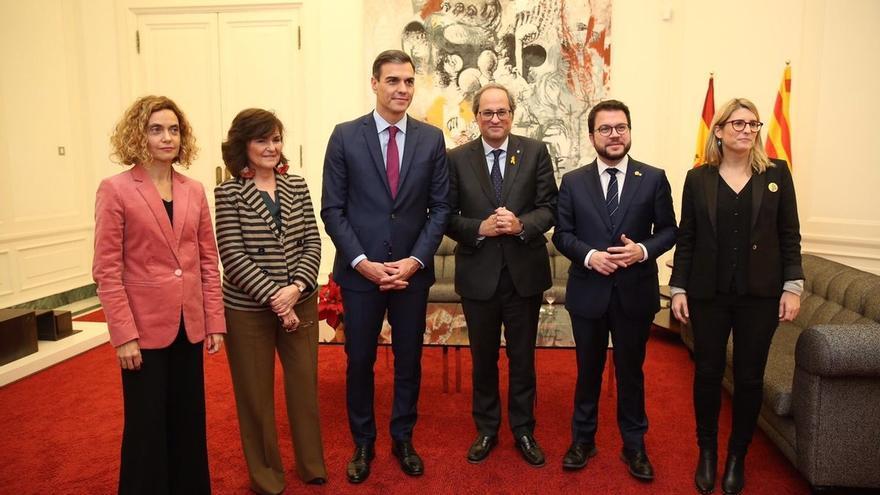 """Gobierno y Generalitat estudian nombrar a alguien que """"dé fe"""" del contenido de sus negociaciones"""