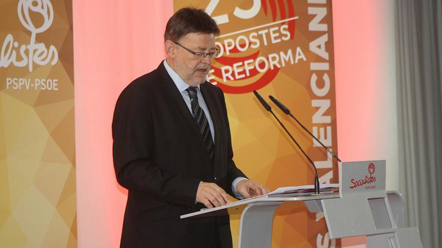 Ximo Puig, secretario general del PSPV.