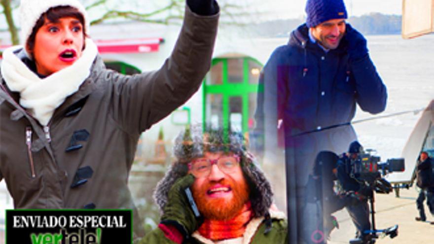 ¡Silencio!, se rueda y se ríe: 'Buscamos el norte' en Berlín con 'la comedia optimista' de Antena 3