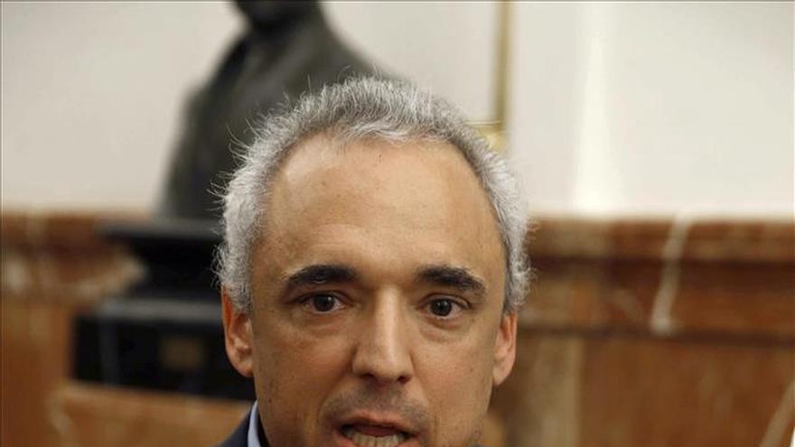 Simancas ve incompatible el discurso anticorrupción de Ciudadanos con el apoyo al PP