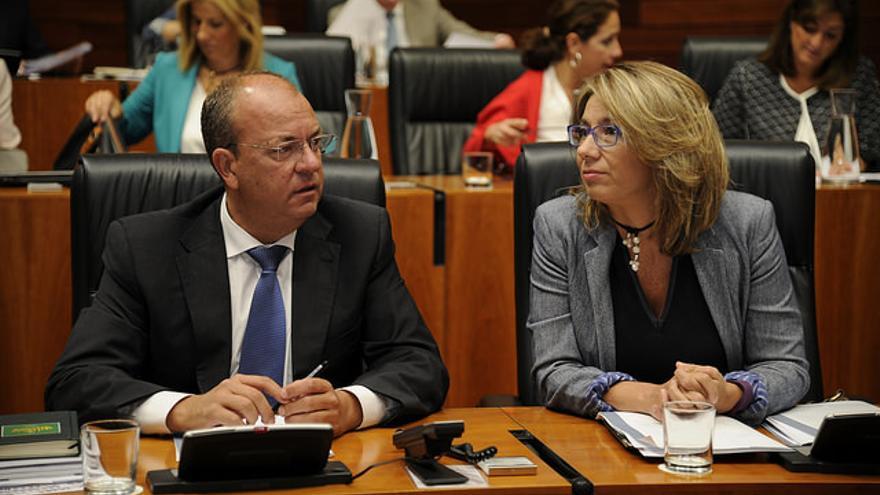 Monago Teniente Asamblea Extremadura pleno