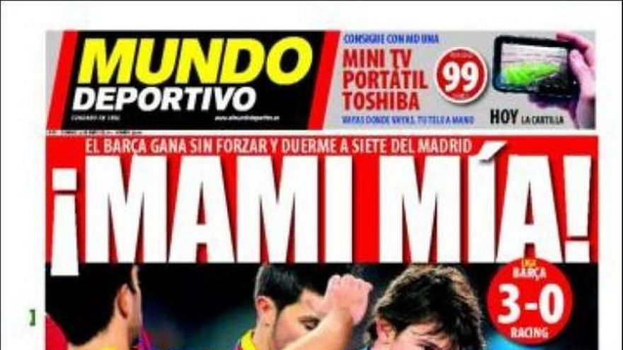 De las portadas del día (23/01/2011) #15