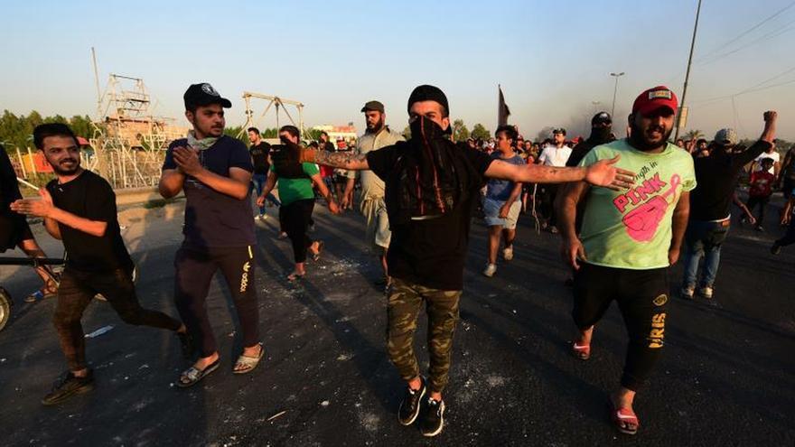 Dos días de nuevas protestas en Irak causan 63 muertos