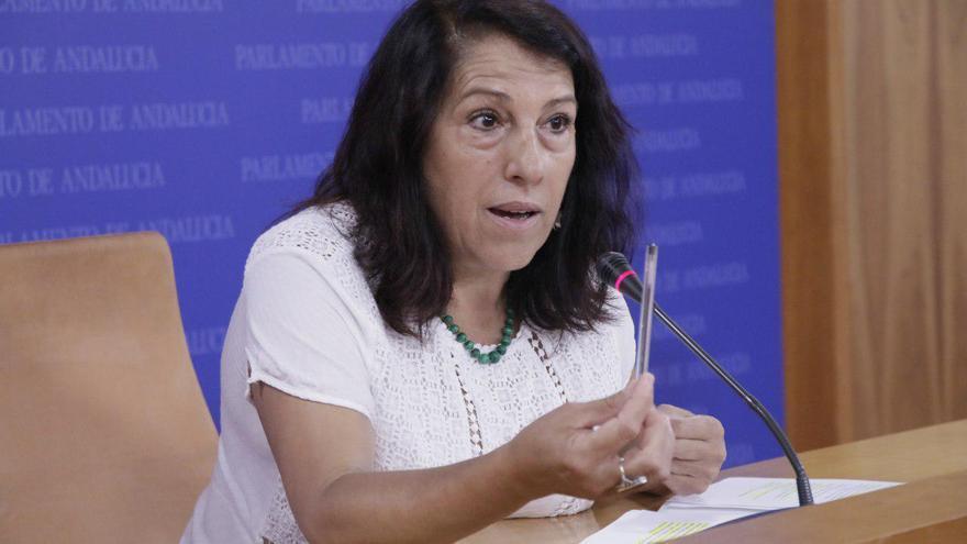 Mari Carmen García, diputada de Podemos en el Parlamento de Andalucía.
