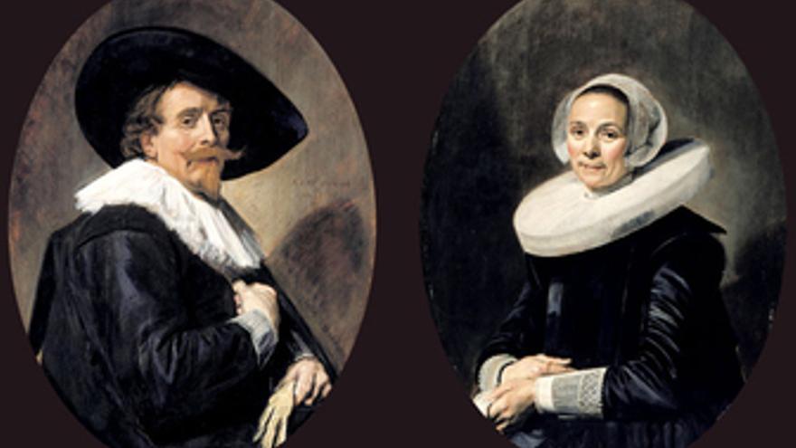 Retratos de un hombre y de una mujer de Frans Hals