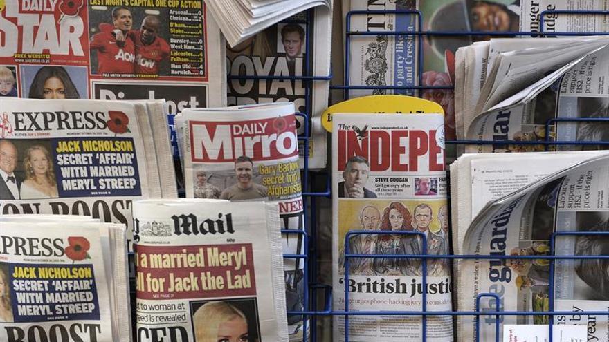 """El diario británico """"The New Day"""" cierra a las nueve semanas de su publicación"""