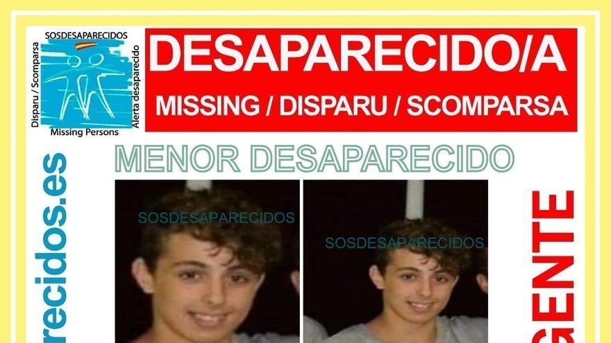 Se busca a Javier, un adolescente desaparecido desde hace dos días en Las Palmas de Gran Canaria