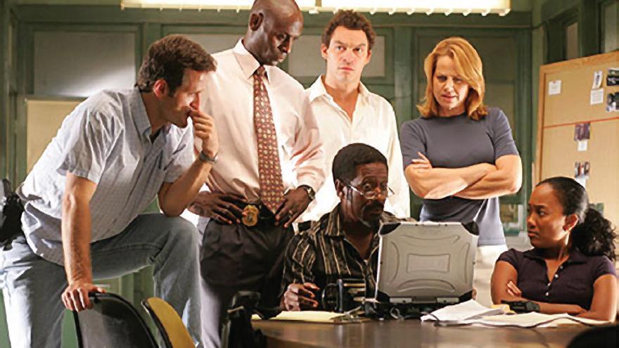 Los protagonistas de 'The Wire'