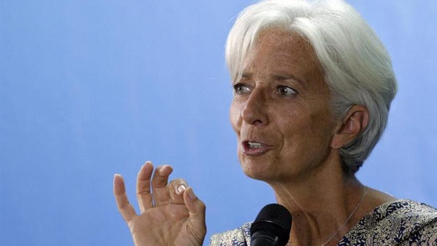 Lagarde se muestra encantada y deseosa de seguir cinco años más al frente del FMI
