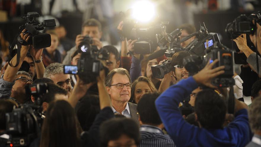 Artur Mas durante el 9-N / Manú Fernández - AP Photo/Gtres