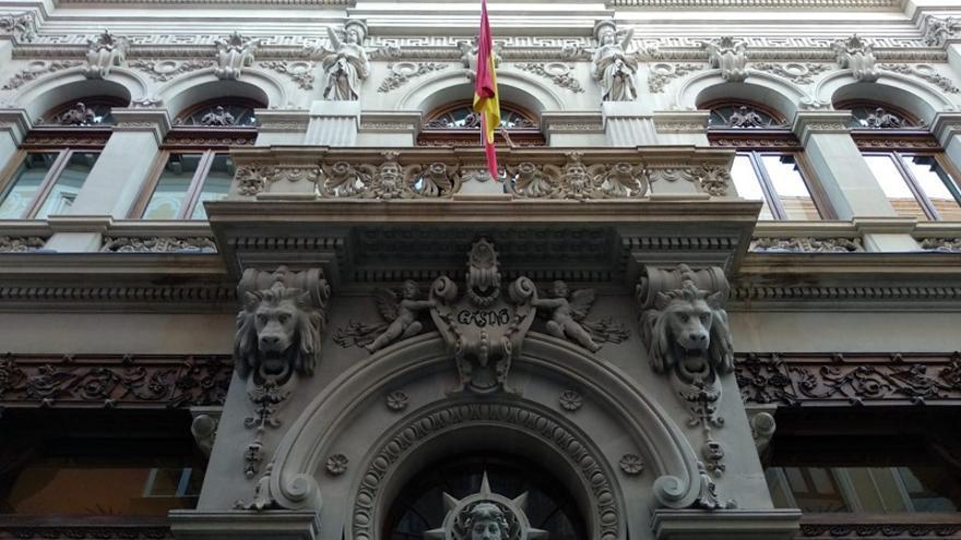 Fachada del Real Casino