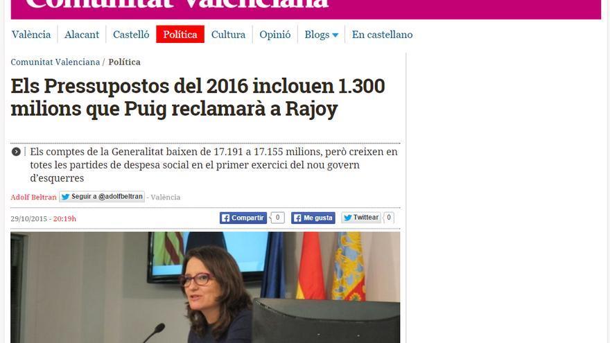 eldiariocv.es estrena edición en valenciano