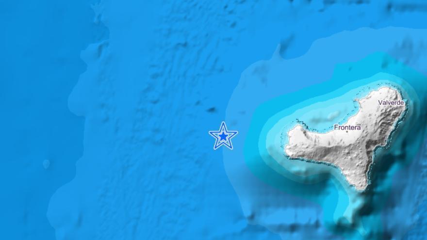 Terremoto detectado en El Hierro.