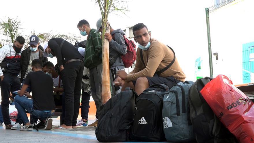 Paralizados los vuelos de deportación de marroquíes desde Canarias