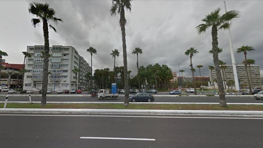 Avenida Marítima en Las Palmas de Gran Canaria