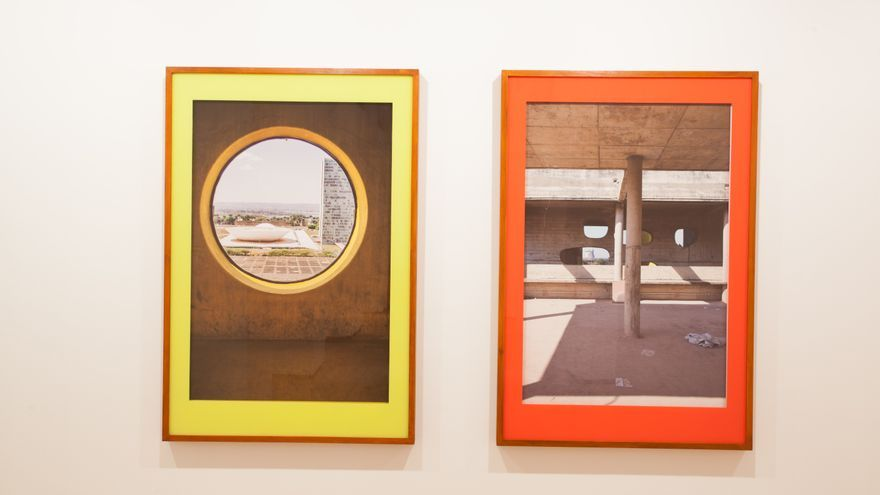 'En busca de la utopía', impresión fotográfica sobre papel de Rodrigo Oliveira.