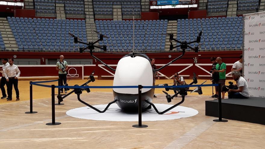 Tecnalia desarrolla el primer aerotaxi del Estado para desplazarse en ciudad de forma autónoma