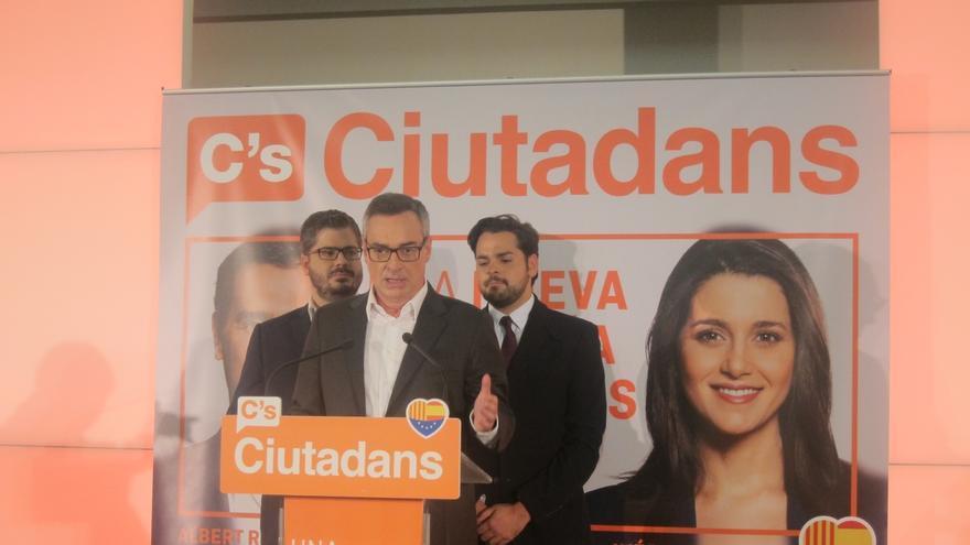 Rivera niega que el vicesecretario general de Ciudadanos actuara con Hacienda igual que hizo Monedero
