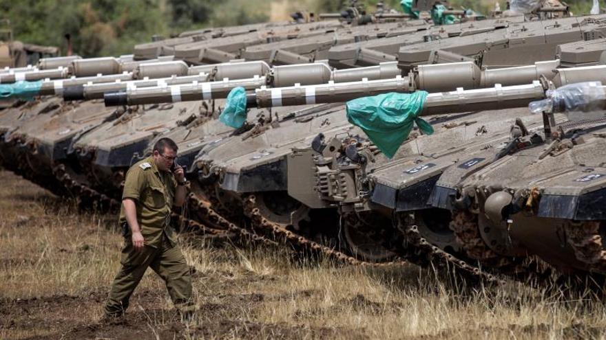 Israel sufre un ataque iraní contra sus fuerzas en los Altos del Golán