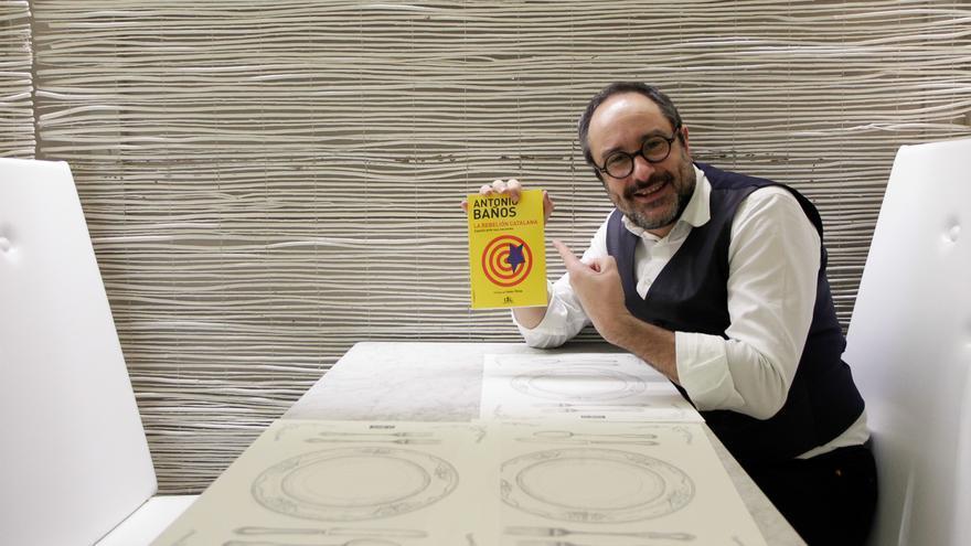 El escritor Antonio Baños. / Marta Jara