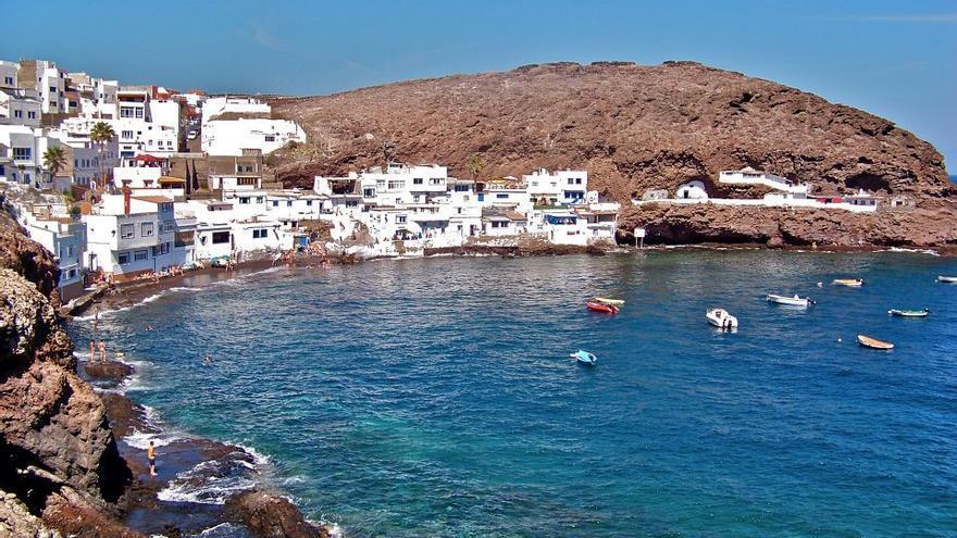 El barrio pesquero de Tufia