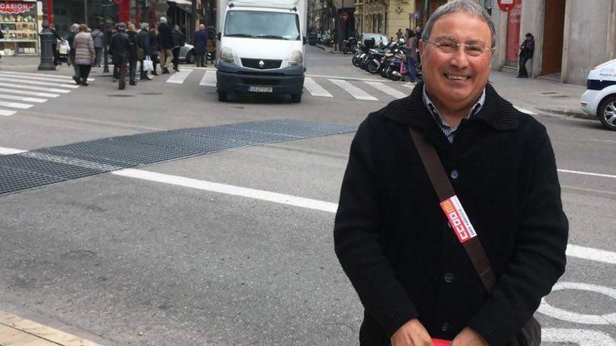 El secretario general de CCOO-PV, Paco Molina
