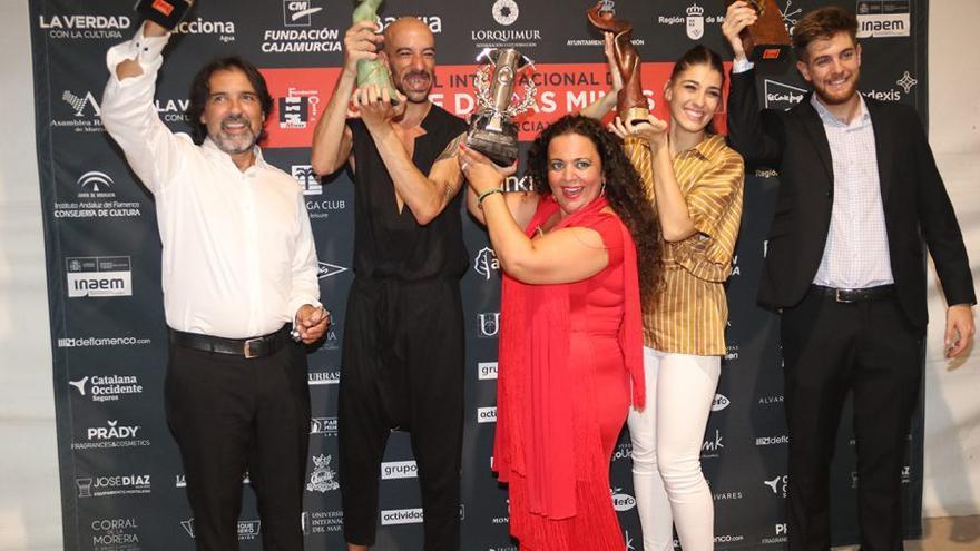 Premiados en el festival del Cante de las Minas 2018