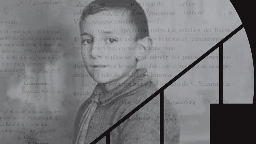 Antonio Buero Vallejo de niño, de sus estudios en Guadalajara a 'Historia de una escalera'