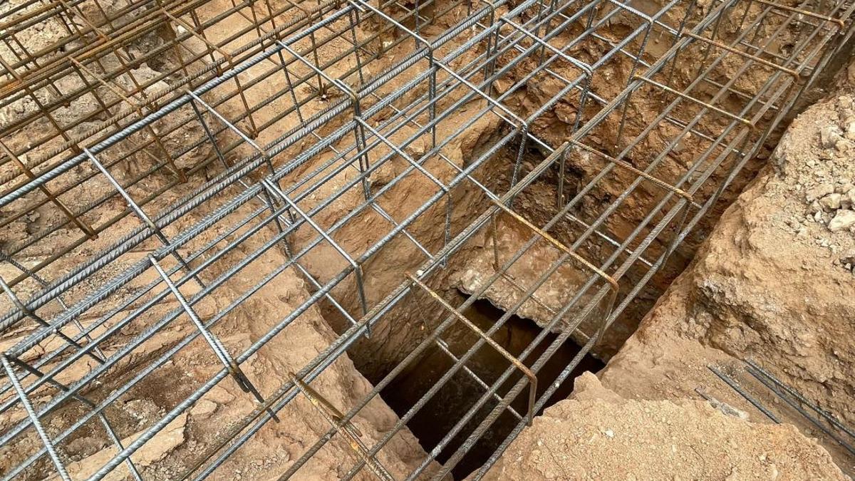 Bóvédas del anfiteatro romano de Toledo encontradas durante unas obras