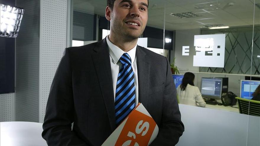 """Ignacio Aguado (C's) saldrá """"a ganar las elecciones"""""""