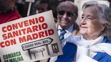 La Plataforma de la Sanidad Pública reclama la entrada en vigor del convenio sanitario con Madrid