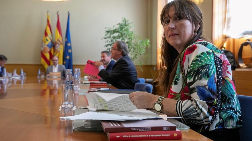 La consejera de Sanidad del Gobierno de Aragón, Sira Repollés.