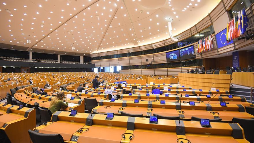 Pleno del Parlamento Europeo del 16 de abril de 2020.