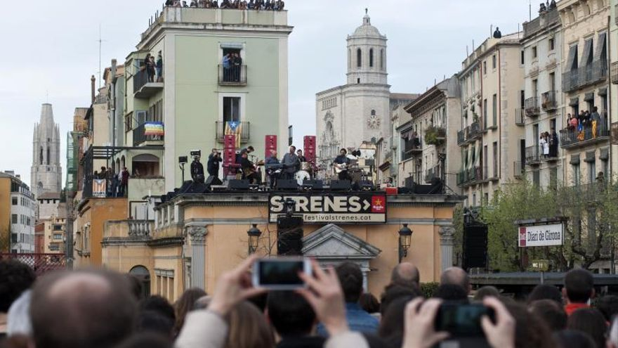 Imagen de archivo de un concierto en una edición anterior del Festival Strenes en Girona.