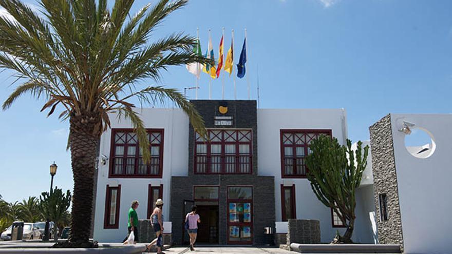 Ayuntamiento de La Oliva. Foto: Carlos de Saá.