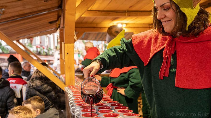 Mercado Navidad en Alsacia