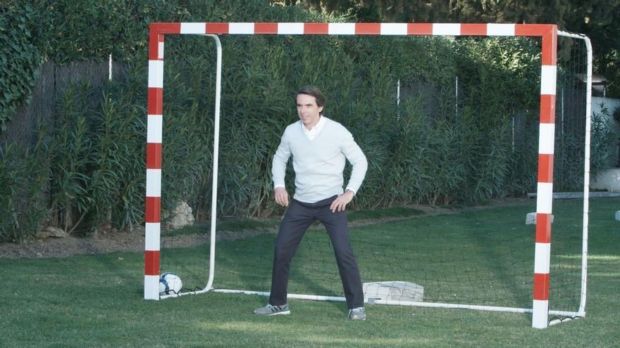 """Aznar de pequeño quería ser Alfredo Di Stéfano: """"Siempre tuve una gran ambición personal"""""""