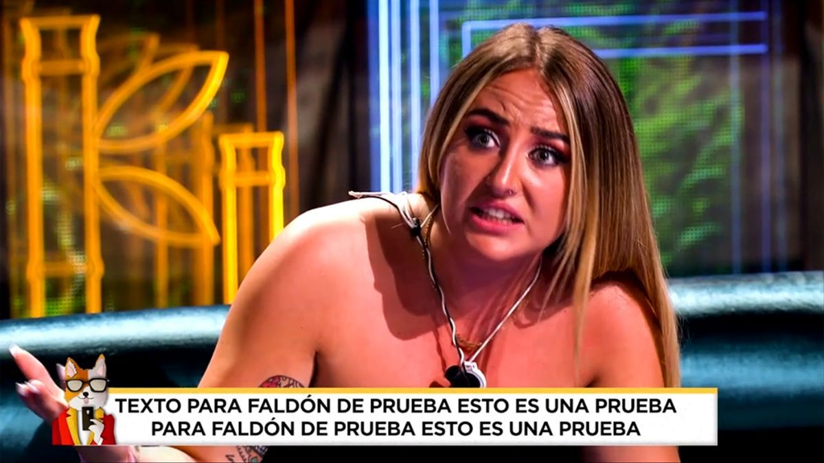El rótulo erróneo que 'Socialité' emitió este domingo en Telecinco