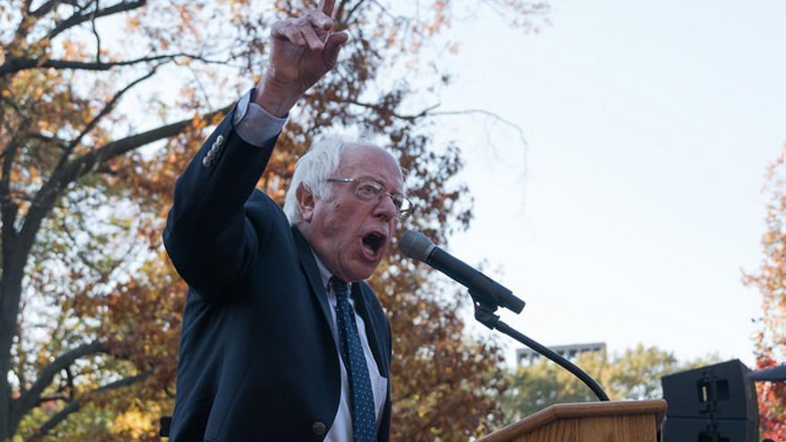 """""""Esta tarea no va a ser fácil"""", reconoce el senador por Vermont, que perdió las primarias demócratas en 2016 ante Hillary Clinton."""